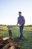 woodcutter Стоковое фото RF
