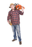 Woodcutter Stock Photo