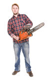 Woodcutter Stock Images