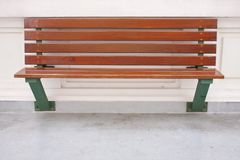 Woodden bench Stock Photo