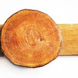 Woodden jährlicher Wachstumring Stockfoto