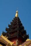 Woodden Pagoda Stock Image