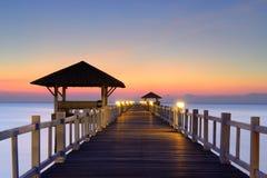 Free Wooded Bridge Royalty Free Stock Photo - 36830075