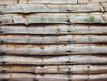 Wooded fence panel Royalty Free Stock Image