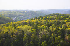 Wooded hills Royalty Free Stock Images
