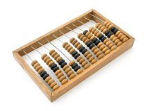 Wooden abacus. Studio shot of wooden abacus Stock Photo