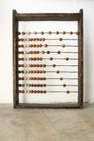 Wooden abacus beads Royalty Free Stock Image