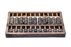 Wooden abacus isolated Stock Photos