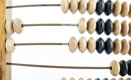 Wooden abacus royalty free stock photography
