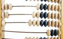 Wooden abacus stock photography