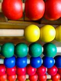A wooden abacus Royalty Free Stock Images