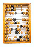 Wooden abacus on white background Stock Photography