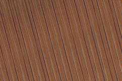 Wooden abstract background veneer board inclined lines dark beige. Brown base Stock Photography