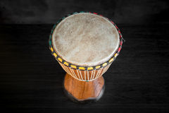 Wooden African Djembe Royalty Free Stock Images