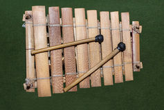 Wooden african xylophone Stock Photography