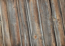 Wooden aged background. Light weathered wooden texture. Skewed v Royalty Free Stock Image