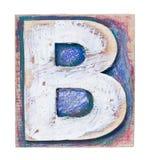 Wooden alphabet Stock Photos