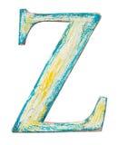 Wooden alphabet letter Royalty Free Stock Photos