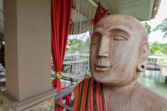 Wooden Ancestor Stock Image