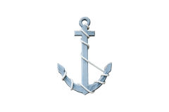 Free Wooden Anchor Stock Photo - 52330500