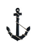 Wooden anchor Royalty Free Stock Images