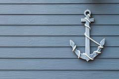 Wooden anchor Royalty Free Stock Photos