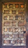 Wooden antique door Stock Photography