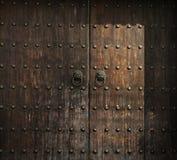 Wooden Antiqur Door Aged Decor Detail Timber Stock Photos