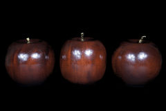 Wooden apple Royalty Free Stock Images