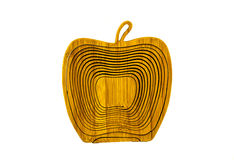 Wooden apple Royalty Free Stock Image