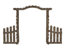 Wooden arbor Stock Photography