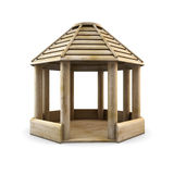 Wooden arbour Royalty Free Stock Photography