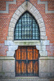 Wooden Arch Doors Stock Images