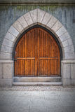 Wooden Arched Doors Stock Photos