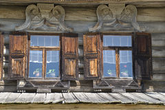 Wooden architechture Royalty Free Stock Images