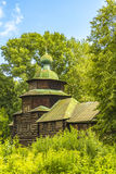 Wooden architecture, the Church of Elijah the Prophet Royalty Free Stock Images