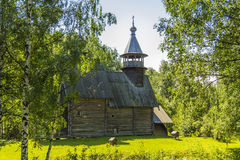 Wooden architecture, church Merciful Savior Stock Image