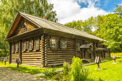 Wooden architecture, huts Royalty Free Stock Photo