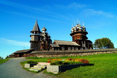 Wooden Architecture in Kizhi Royalty Free Stock Photo