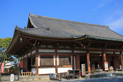 Wooden architecture of To-ji Temple in kyoto Royalty Free Stock Photo