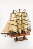 Wooden argosy model Stock Image