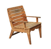 Wooden armchair Stock Photography