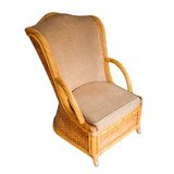 Wooden armchair Royalty Free Stock Image