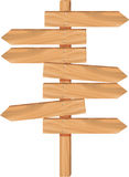 Wooden arrow directions Royalty Free Stock Photography