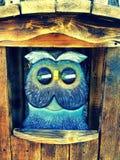 Wooden art Stock Image