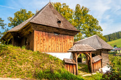 Wooden Articular Church in Lestiny royalty free stock images