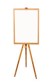 Wooden artist easel Royalty Free Stock Photo