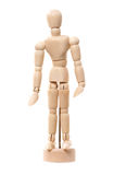Wooden artist mannequin Stock Photo