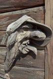 Wooden Austrian Heinzelmaennchen Stock Photo