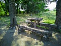 47-Wooden ławka obraz stock